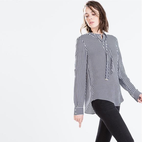 Zara Long Sleeved Blouse 4