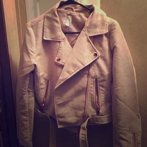LC Lauren Conrad LimitedEdition Blush Suede Jacket