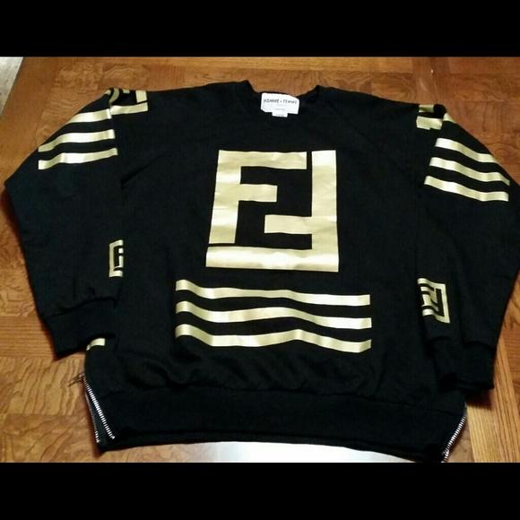 0015554c80c8 HOMME+FEMME Shirts   Hommefemme La Fendi Lagerfeld Mens Sz Xl   Poshmark
