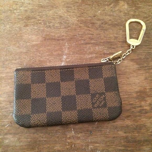 99b488f65deb Louis Vuitton Accessories - Louis Vuitton Damier Ebene Cles Key Pouch