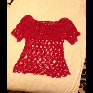 Tops - Crochet Sweater Top