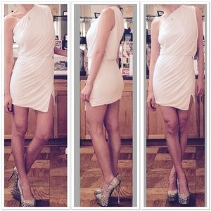 Young Fabulous and Broke Sway Dress in White
