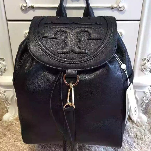 ed43451a96cc New with tag Tory burch all t backpack in black