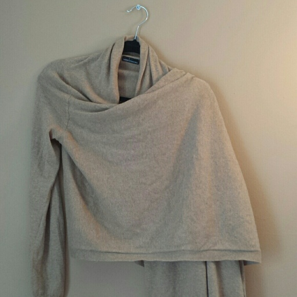 Victoria's Secret - VS Cotton cashmere wrap sweater from Marina's ...