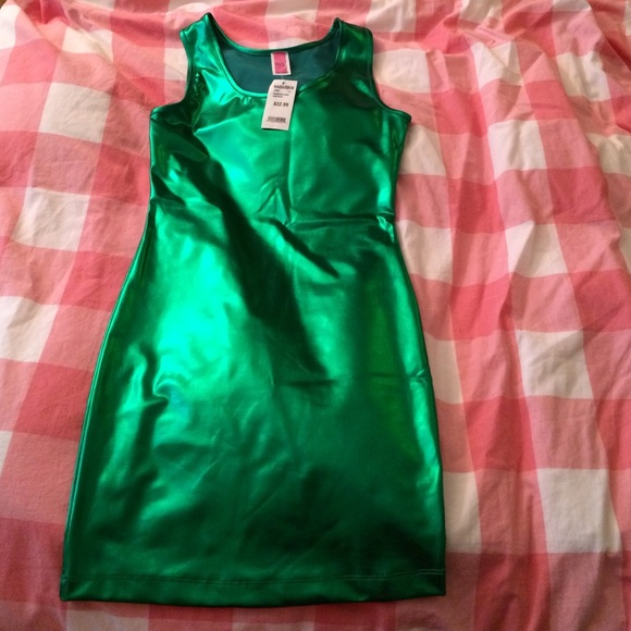 abc35b6cd7afa9 Metallic Ragstock Dress
