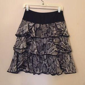 DStudio Dresses & Skirts - Tiered ruffle midi skirt