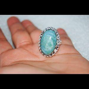 handmade & handcrafted gemstone jewelry Jewelry - ✂️SALE✂️Aventurine Handmade Ring Size 9