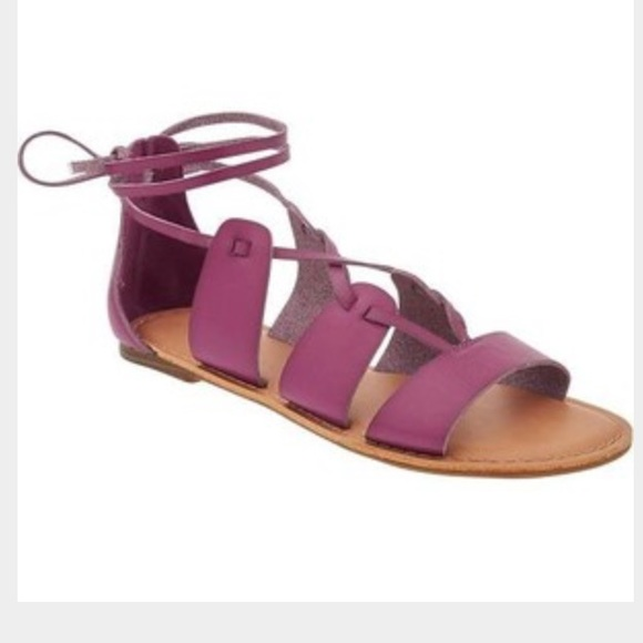 Old Navy Shoes - Black old navy tie up sandals