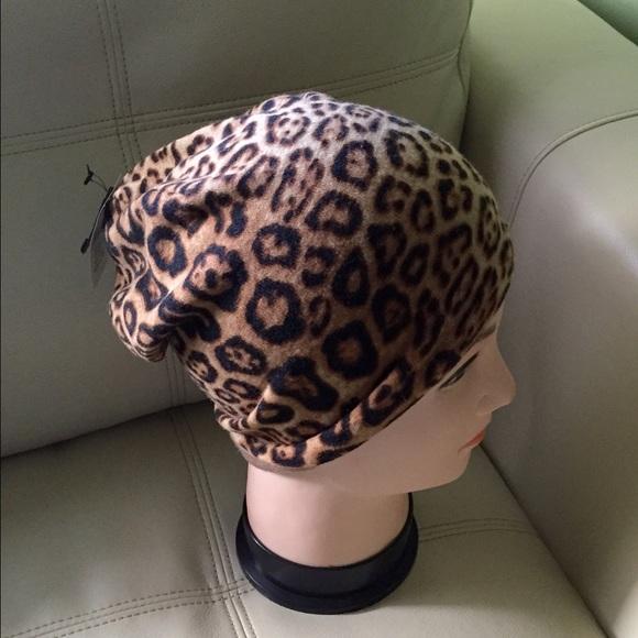 Leopard Print Winter Hat 9f726db4665