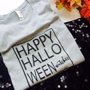 Tops - Happy Halloween witches tshirt