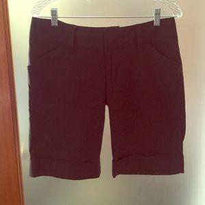 Alice + Olivia Black Shorts Size 8