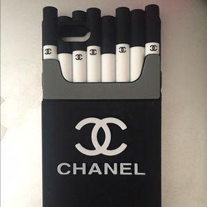 c681f0e5 Brandy Melville Accessories | Chanel Iphone 6 Case Smoking Kills ...