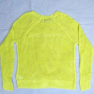 Old Navy Sweaters - Citron Old Navy Open Knit Sweater Size XL