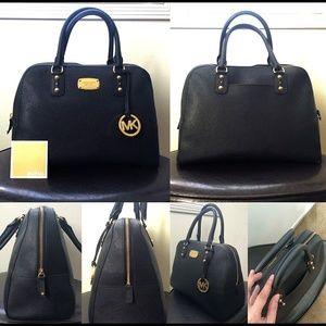 a0077d164d74 Michael Kors Bags - AUTHENTIC Michael Kors Saffiano Leather Satchel
