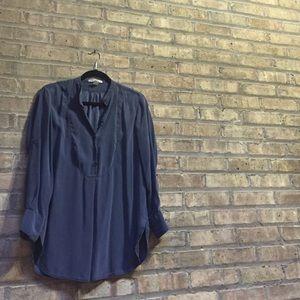 Kenneth Cole 🗽 NY silk tunic