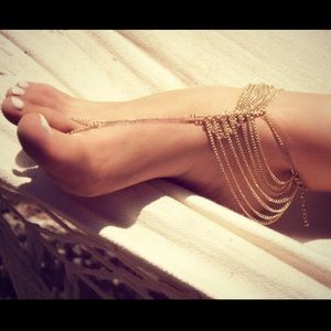Jewelry - Golden Anklet