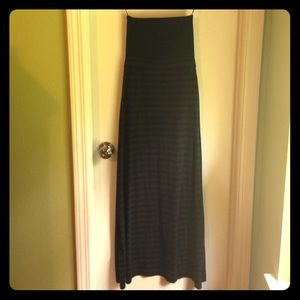 Black Maxi dress/skirt