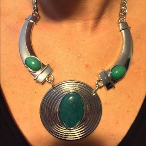 New York & Company Jewelry - 🆕 Teal Stone Statement Necklace