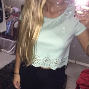 Urban Outfitters Mint Top