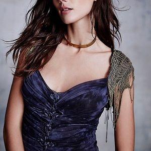 Cecilia De Bucourt Dresses - FOUND! Cecilia De Bucourt SHIRRED TIE DYE GOWN  sm