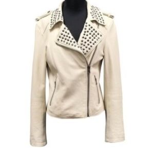 F21 LAMBSKIN LEATHER Jacket