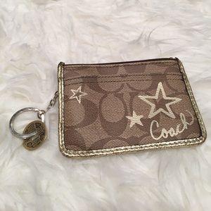 Coach Handbags - Coach wristlet key fob