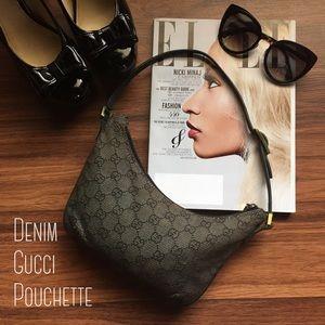 Authentic Gucci Pouchette Purse Bag