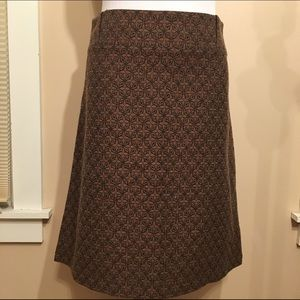 NWOT Express studio A line structured skirt
