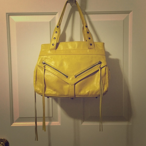 Botkier - Botkier Yellow Leather Handbag from Sarah's closet on ...