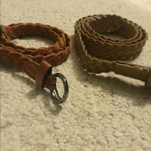 Accessories - Bundle of braided belts