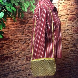 classic Handbags - Cute little shimmery gold purse
