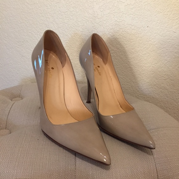 d2f6cd7db180 kate spade Shoes - 🎉HP Kate Spade licorice too beige patent pumps