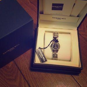 Raymond Weil Accessories - NIB Raymond Weil silver watch
