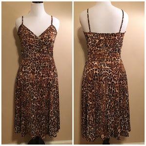 NWOT Forever 21 animal print dress