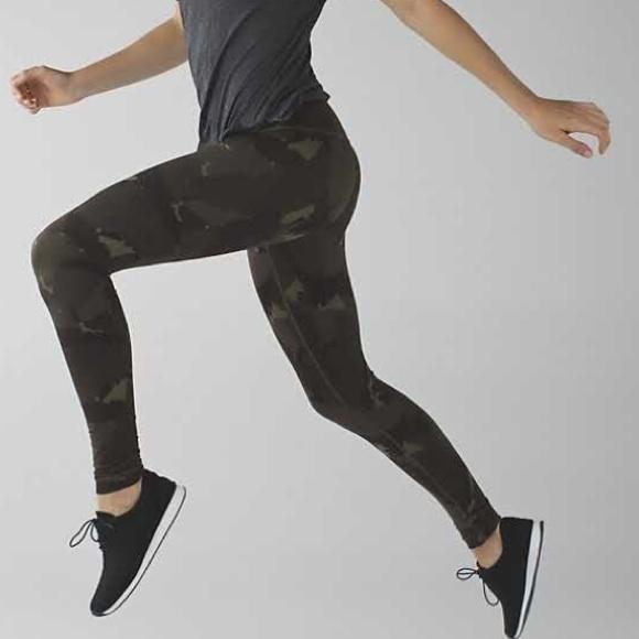 Lululemon Athletica Pants Jumpsuits Lululemon Wunder Under Camo Leggings Poshmark