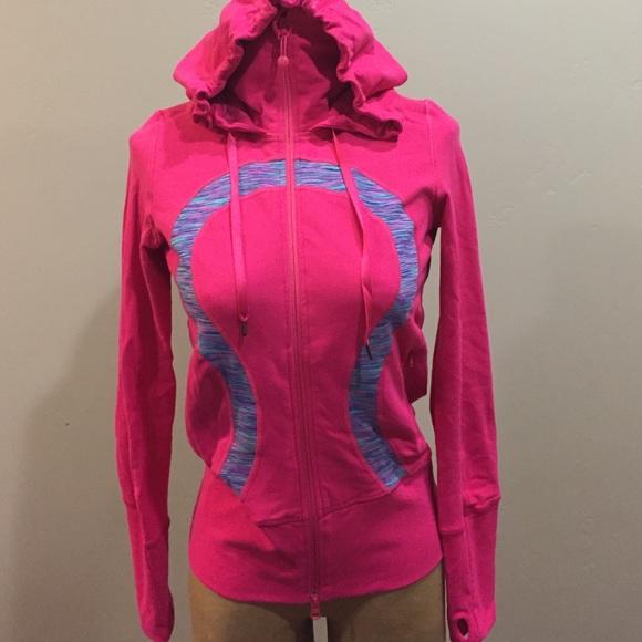 afa3641163 lululemon athletica Jackets & Blazers - Vintage lululemon señorita pink  space dye hoodie