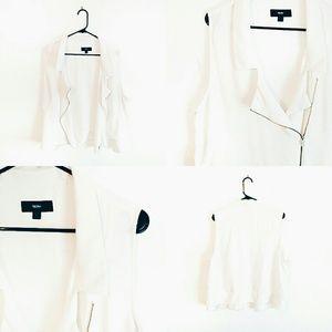 White Mossimo Vest