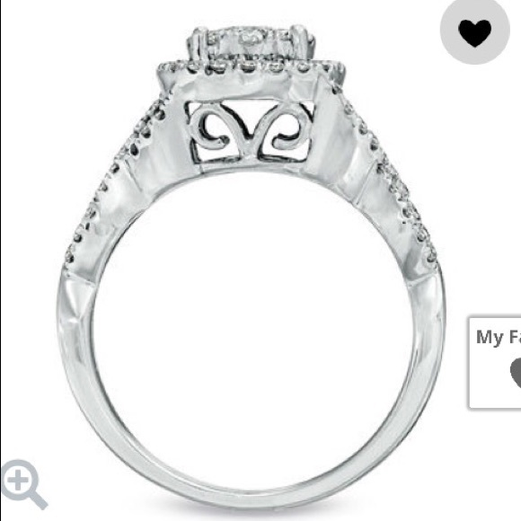 14% off Zales Jewelry Engagement Ring with Wedding Bands from Bre s clo