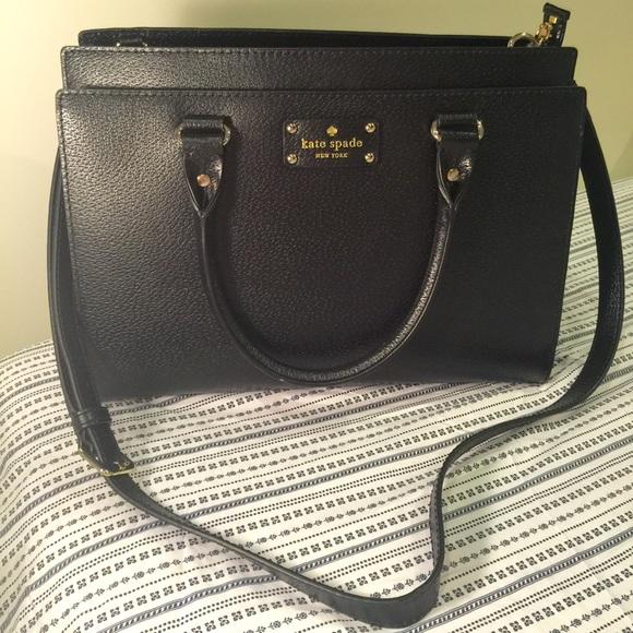 596905625ac22f kate spade Handbags - Kate spade Wellesley Durham black