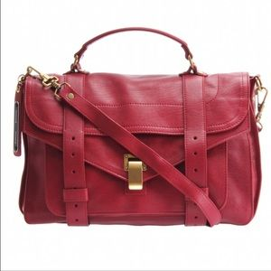 Proenza Schouler Handbags - 🎀HP🎀 Proenza Schouler PS1 medium chianti red