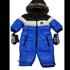 f390f7dc Hugo Boss Jackets & Coats | Baby Snowsuit And Gloves 9m | Poshmark
