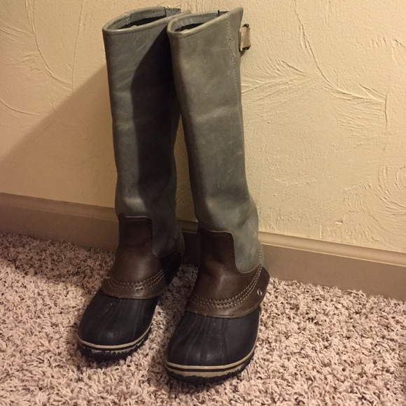 f90243eb5c7 Sorel knee high winter boots. M 560d4edbf09282166d003a1c