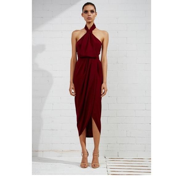87a55d48165c Shona Joy Dresses | Core Knot Draped Dress | Poshmark