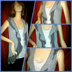 pretty good Tops - HIGH LOW OPEN OVER SHIRT by PRETTY GOOD SIZE M