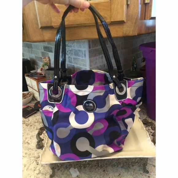 Coach Handbags - Purple  49092ec9dcf1a