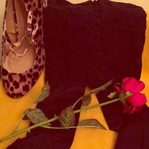 Accessories - Vintage Black Opaque Tights