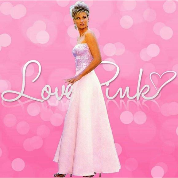 PINK Victoria\'s Secret Dresses | Victorias Secret Pink Prom Dress ...
