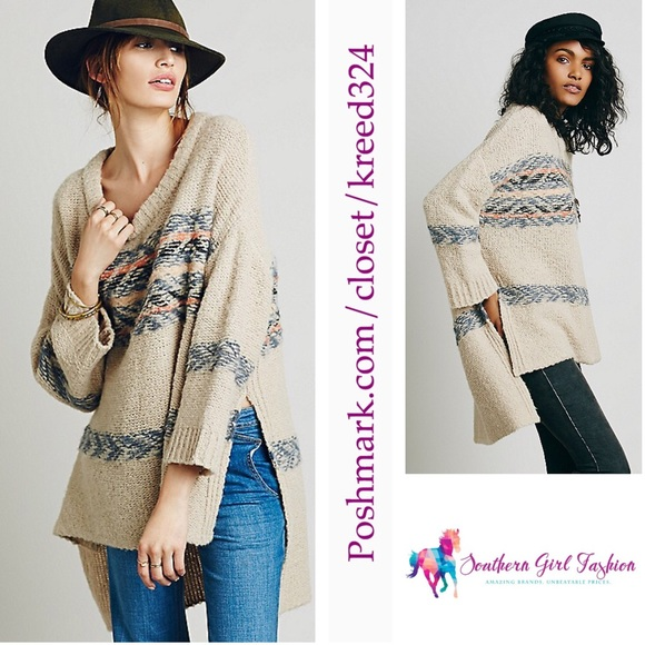 40% off Free People Sweaters - FREE PEOPLE Tunic Oversized ...