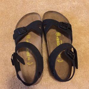 birkenstock rio quarter strap sandal