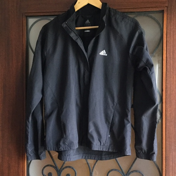 8dc06c1902cd Adidas Jackets   Blazers - ADIDAS climaproof black running active jacket